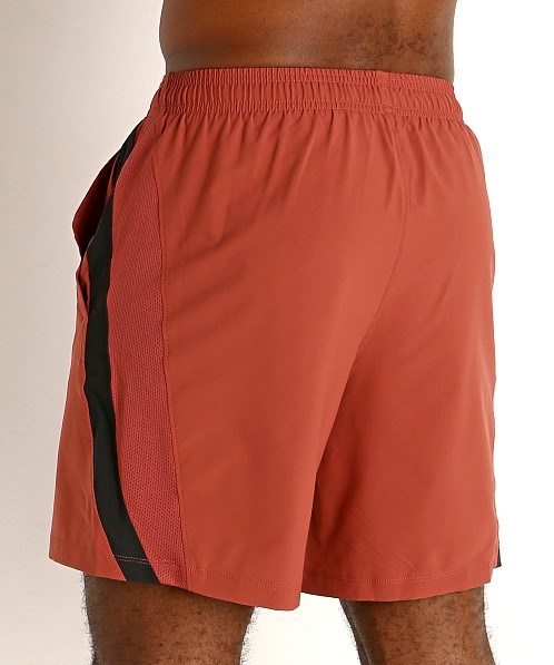 "Under Armour Launch 7"" Running Short Cinna Red/Reflective"