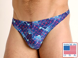 Model in revelation LASC Brazil Swim Thong