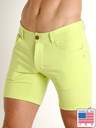 Model in citron Go Softwear South Beach Princeton Short