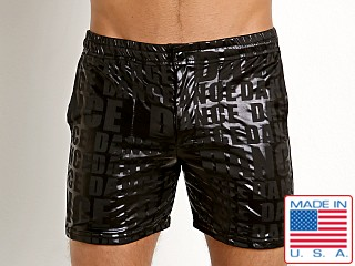 LASC Laguna Swim Shorts Dance Black Print