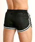 Cell Block 13 Crossover Mesh Reversible Short Green/Black, view 4