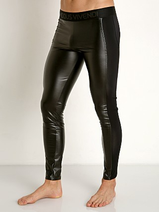 Modus Vivendi High Tech Latex Leggings Black