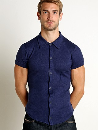 You may also like: Modus Vivendi Mohair-Look Shortsleeve Shirt Marine