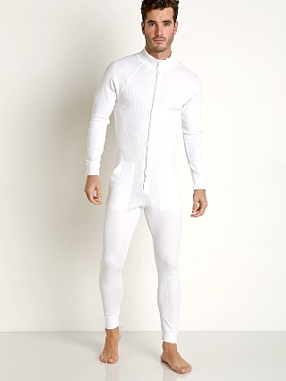 Modus Vivendi Tiger Union Suit White