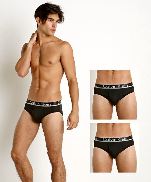 Calvin Klein Comfort Microfiber Brief 3-Pack Black