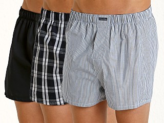 Calvin Klein Woven Boxers 3-Pack Tide