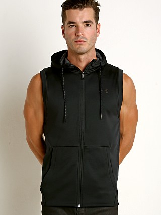 Under Armour Sleeveless FZ Hoodie Black