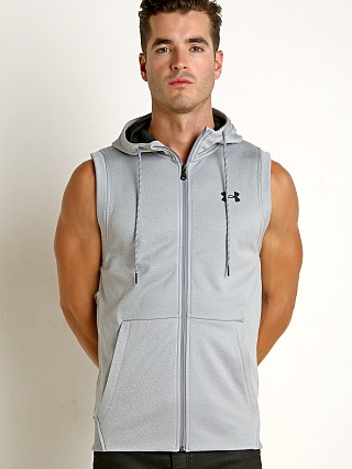 Under Armour Sleeveless FZ Hoodie Light Heather