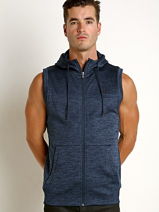 Under Armour Sleeveless FZ Hoodie Academy Blue