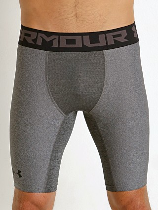 Under Armour Heat Gear 2.0 Compression Short Carbon Heather