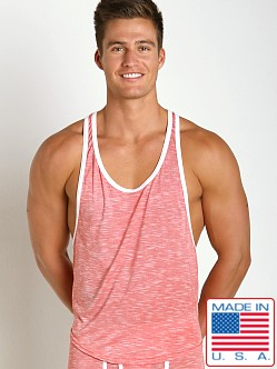 Go Softwear Vivid Heather Athletic Tank Red