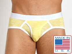 Go Softwear Vivid Heather Low-Rise Brief Yellow