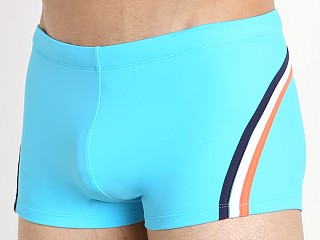 Sundek Beachhead Square Cut Swim Trunk Cornflower #6
