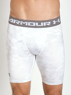 Under Armour Heatgear Armour Compression Short White