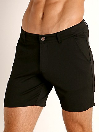 Model in black Timoteo Chelsea Short