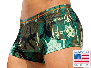 Rufskin Dylan Summer of Love Swim Trunk Camo