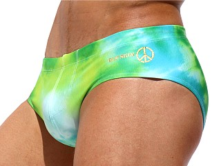 You may also like: Rufskin Leary Summer of Love Swim Brief Tie Dye Greens