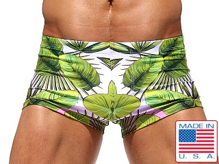 Rufskin Manao Sublimated Swim Trunk Print