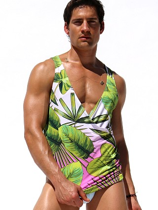 Complete the look: Rufskin Tropic Sublimated Stretch Cross V-Neck Tank Top Print