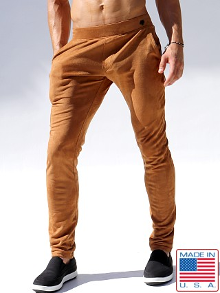 Rufskin Queens Ultra-Suede Slim Cut Sport Pant Tobacco Brown
