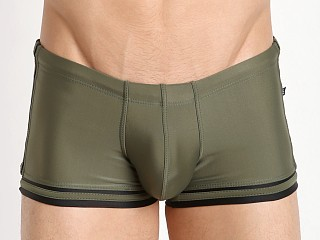 Tulio Sailor Pouch Trunk Olive/Black
