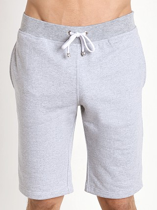 Tulio Pocketed Fleece Knee Length Shorts Heather