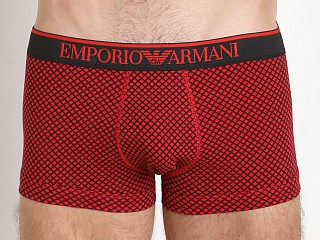 Emporio Armani Pattern Mix Trunk Red