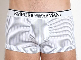 Emporio Armani Pattern Mix Trunk White