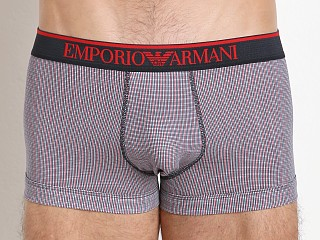 Emporio Armani Pattern Mix Trunk Marine