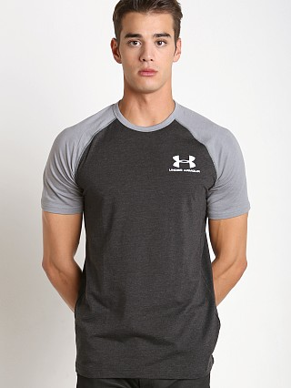 Under Armour Sportstyle Stretch Tee Asphalt/Greyhound