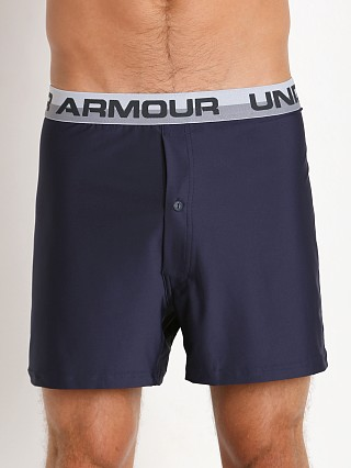 "Under Armour ""O"" Series Button Fly Boxer Short Midnight Navy"