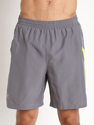 "Under Armour Launch 7"" Solid Short Graphite/Flash Light"