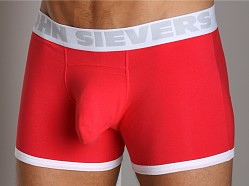 John Sievers Cotton Natural Pouch Boxer Brief Delicious Red