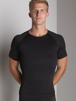 SPANX Zoned Performance Crew Shirt Black